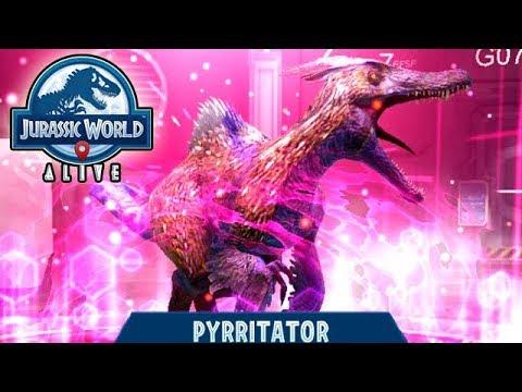 PARAMOLOCH LEGENDARY NEW HYBRID UNLOCKED!!! (JURASSIC WORLD