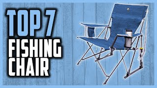 Best Fishing Chair in 2021 | Top 7 Lightweight Fishing Chairs For Boat