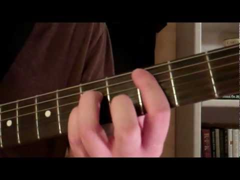 How To Play the C5 Power Chord On Guitar (lesson and demo)