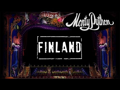 Monty Python - Finland (w/ lyrics)
