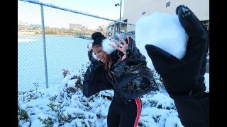Download Youtube: SNOWBALL FIGHT GONE WRONG!! | VLOGMAS DAY 9