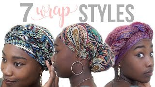 7 Easy Wrap/Turban Styles