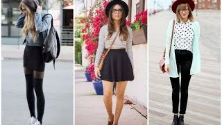 OUTFITS Para Chicas HIPSTER | Como Vestir De Estilo Hipster | Ideas