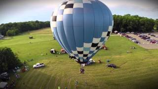 Promotional value of a hot air balloon tether!