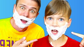 Five Kids Pretend Play As Grownup Adults | Funny Children Stories