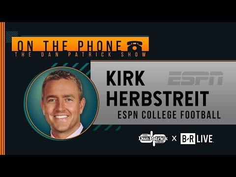 ESPN's Kirk Herbstreit Talks Michigan, Trevor Lawrence, LSU & More with Dan Patrick | Full Interview
