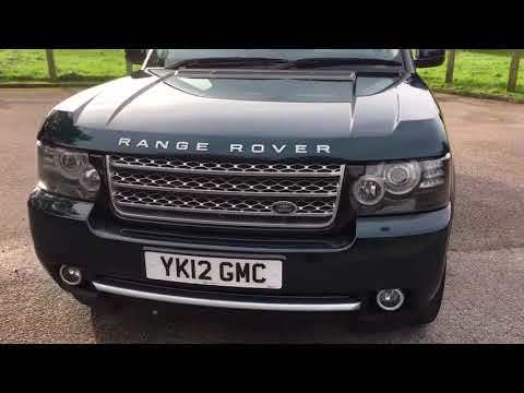 2012 (12) LAND ROVER RANGE ROVER 4.4 TDV8 WESTMINSTER 5DR Automatic
