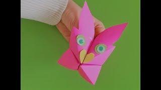 Gambar cover Origami Kukla Tavşan Yapılışı