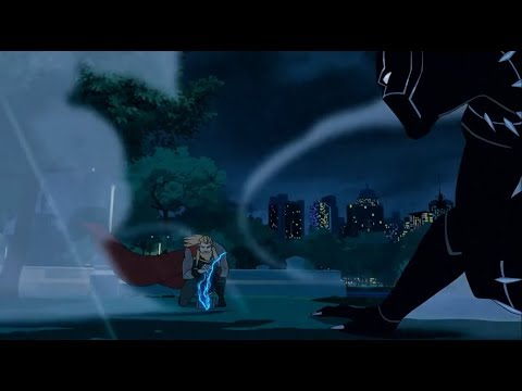 Download Black Panther Vs Thor HD Mp4 3GP Video and MP3