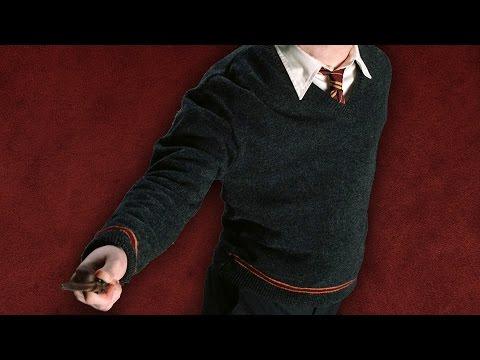 Der Gryffindor-Sweater: Hogwarts-Schulkleidung vom Filmausstatter