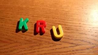 Latviešu alfabēts - Mācos Lasīt.wmv