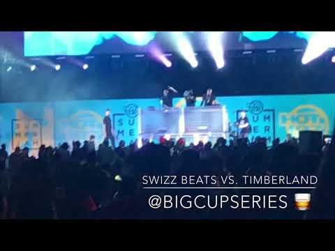 Swizz Beatz vs Timberland Summer Jam 2018
