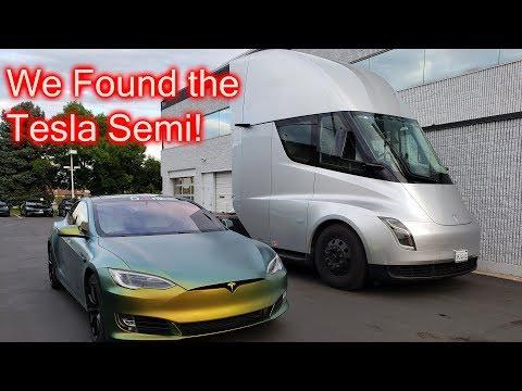 We Found The Tesla Semi Truck!