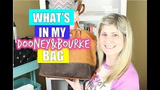 WHATS IN MY BAG | DOONEY & BOURKE BAG ORGANIZATION SPRING 2015
