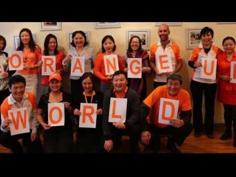 #OrangeUrWorld
