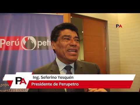 Entrevista a Seferino Yesquén, Presidente de Perupetro