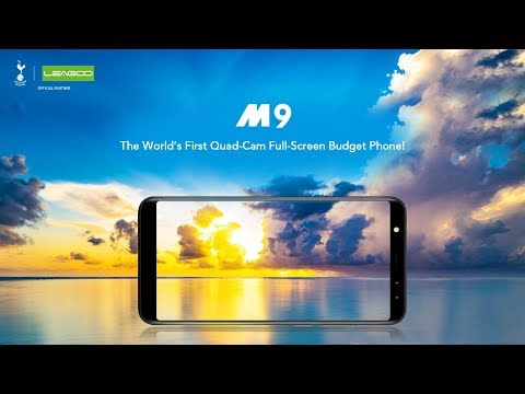 LEAGOO M9- the World's First Quad-Cam Full-Screen Budget Phone