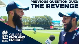 Previous Question Quiz: The Revenge - Adil Rashid v Moeen Ali