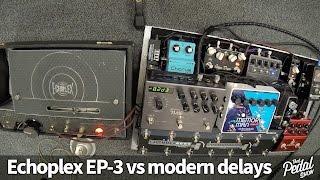 That Pedal Show – Echoplex EP 3 Vs Strymon TimeLine, EHX Memory Man & Analogman ARDX20