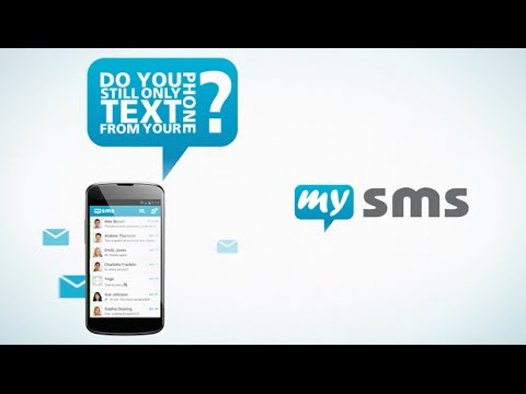 Video of SMS Texting from Tablet & Sync
