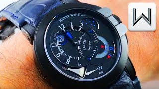 Harry Winston Ocean Project Z6 Alarm Watch Limited Edition (400-MMAC44ZK) Luxury Watch Review