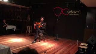 Tablao Las Carboneras: Yeray Cortés en su solo