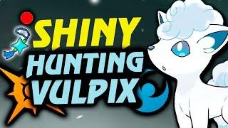 EN BUSCA DEL VULPIX SHINY CON AMULETO IRIS | SHINY HUNTING SOL Y LUNA