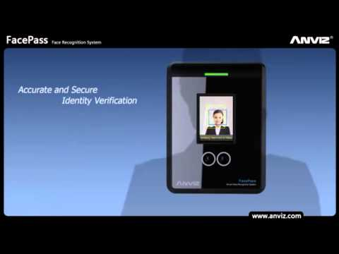 Control de Asistencia a través del Rostro   Anviz FacePass