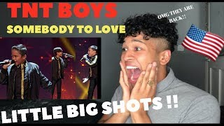 TNT Boys - Somebody To Love - Little Big Shots |MY REACTION