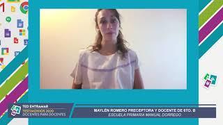 Maylén Romero, Escuela Manuel Dorrego