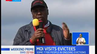 'We should find a lasting solution on Mau' Gideon Moi says