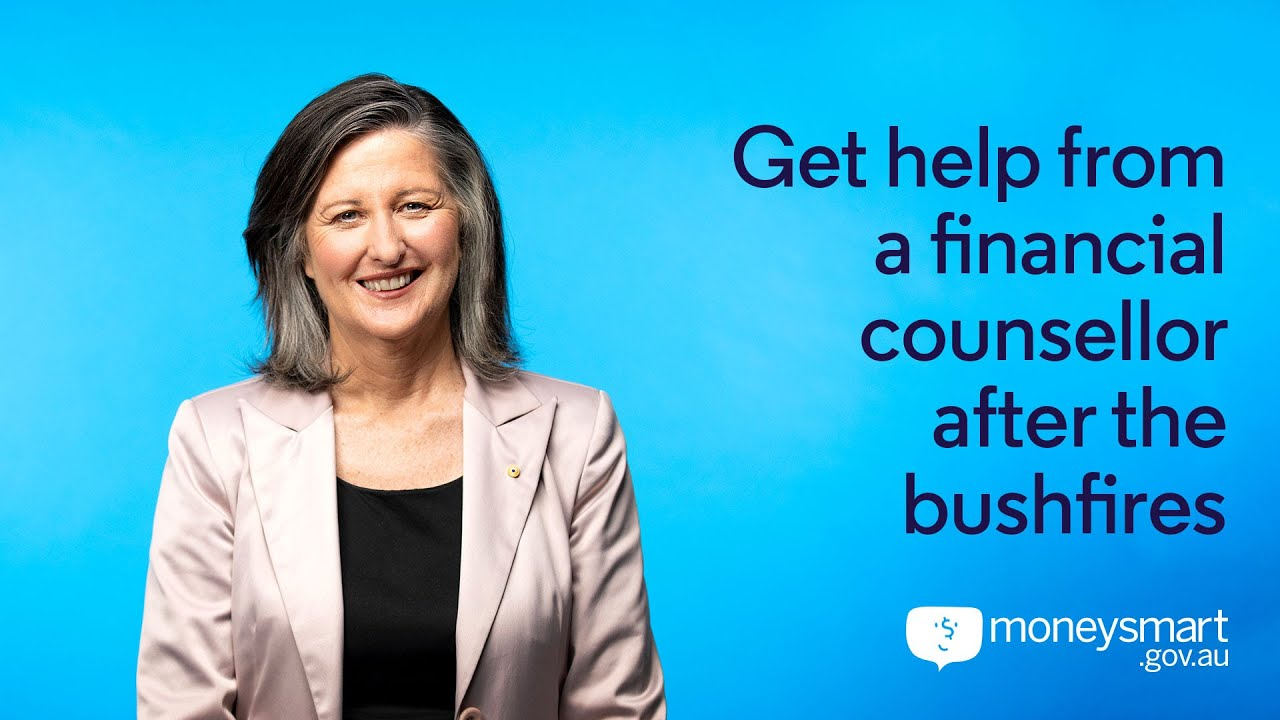 Video thumbnail image for: Video: Get help from a financial counsellor after the bushfires