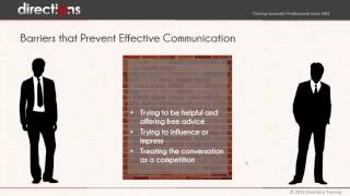How to Listen Effectively - Professional Training
