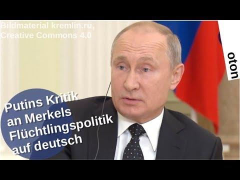 Putins Kritik an Merkels Flüchtlingspolitik auf deutsch [Video]