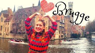 BRUGGE - Çikolata Kokulu ROMANTİK Şehri Gezdim