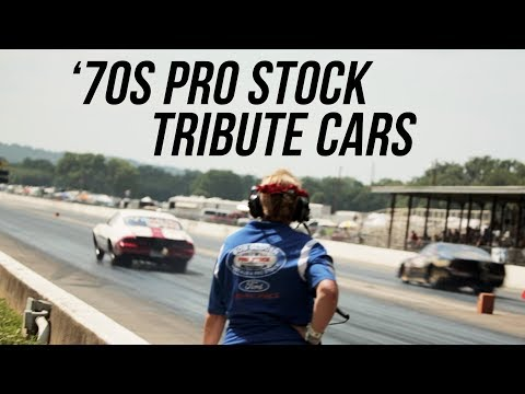 '70s Pro Stock Nostalgia Tribute Cars - Holley Hot Rod Reunion