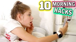 10 BEST MORNING EVER Life Hacks! Morning Routine Ideas For Back To School