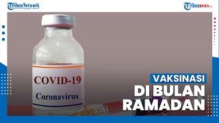 Wakil Presiden Ma'ruf Amin Setuju Vaksinasi Covid-19 saat Bulan Ramadan