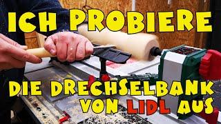 Im Einsatztest: Lidl - PARKSIDE® Drechselmaschine PDM 600 A1