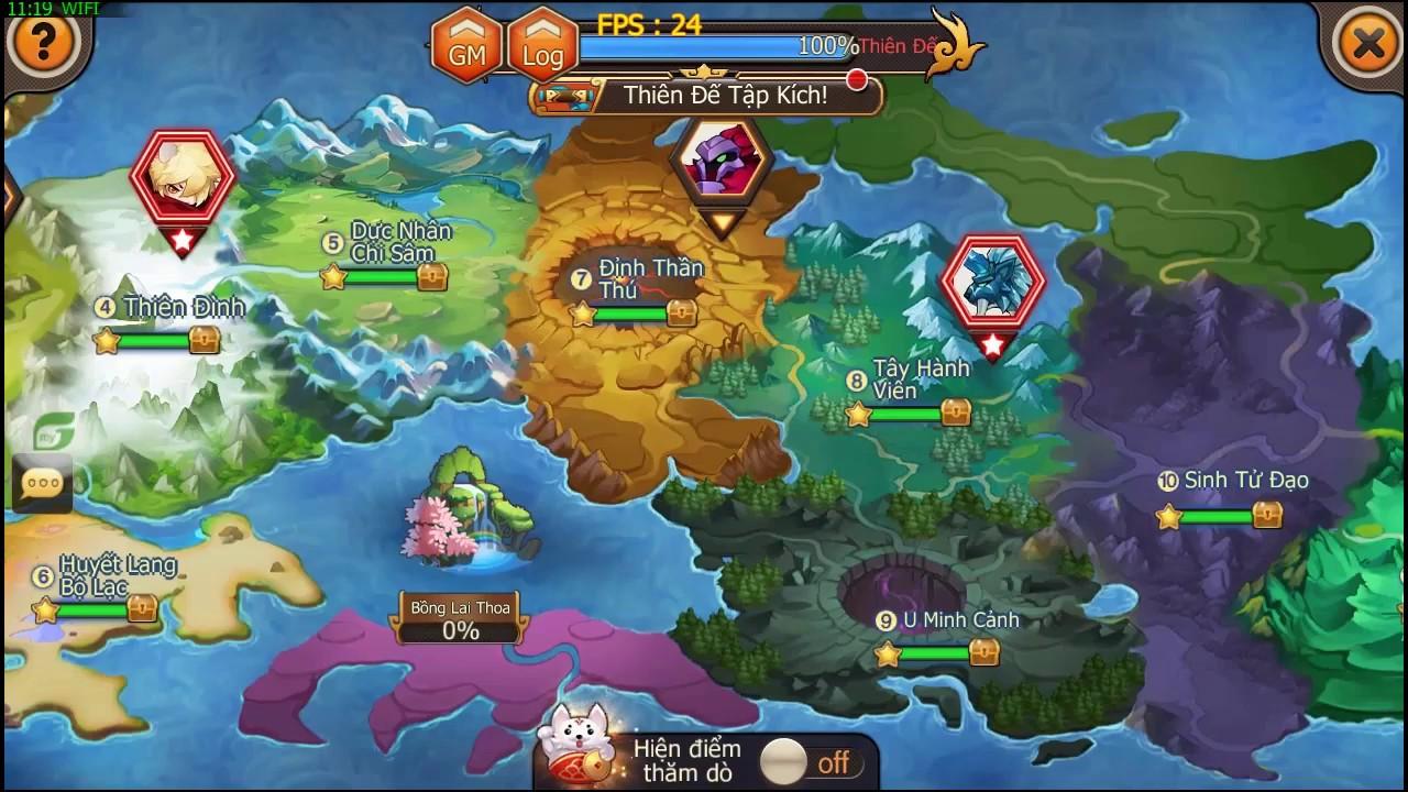 Loạn Tam Giới – Tìm hiểu tính năng Boss Thế giới