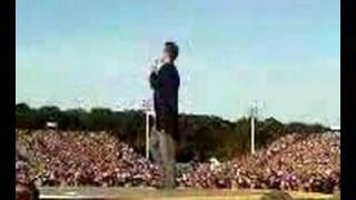 Robbie Williams - Concert in Hamburg
