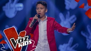 Joseph Mael canta Hoy Tengo Ganas de Ti – Audiciones a Ciegas   La Voz Kids Colombia 2019