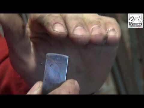 Manutenzione attrezzi del maniscalco