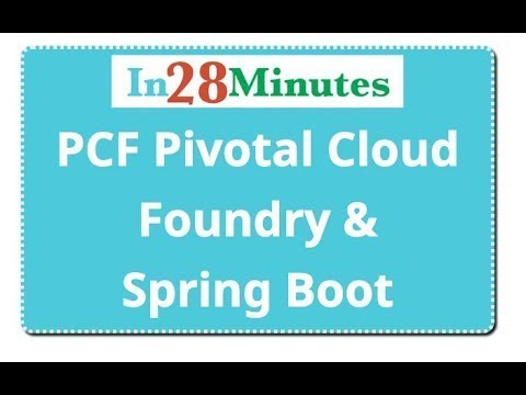 Pivotal Cloud Foundry PCF Tutorial with Spring Boot Microservices ...