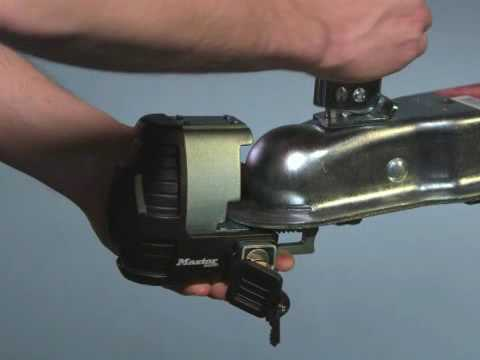 Screen capture of About Master Lock Universal Trailer Coupler Lock