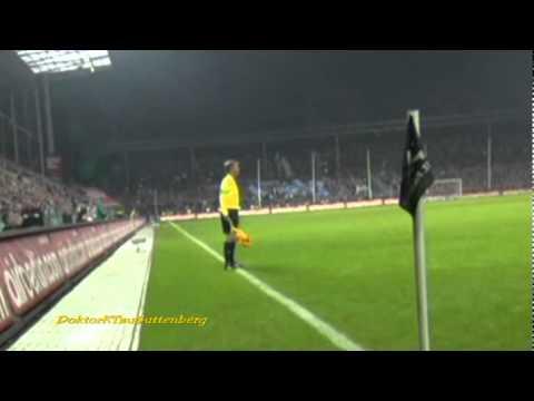 St. Pauli vs Schalke - Bierbecher ABBRUCH