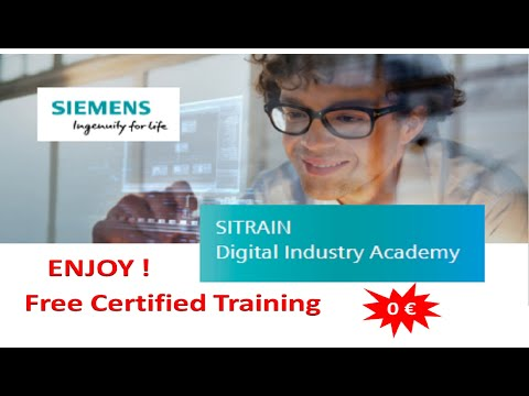 How to get free certified training from SIEMENS - YouTube