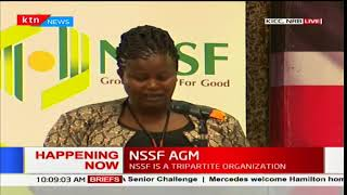 NSSF AGM: Focus is on tapping in informal sector