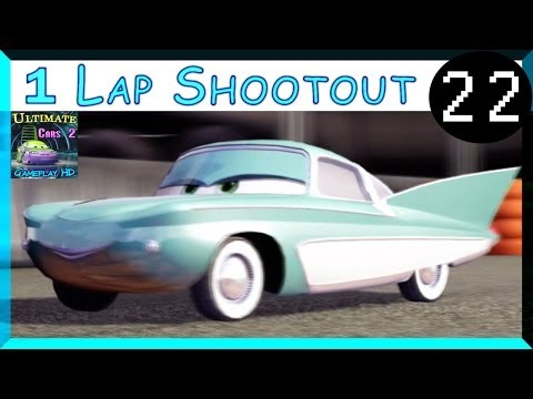 Flo Cars 2 The Video Game Race Hard Difficulty One Lap Shootout Runway Tour Part 22