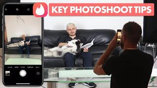 Ultimate Photoshoot Guide - Take Great Pictures From Home That Make Girls Swipe Right on Tinder